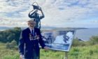 96-year-old veteran David Craig officially opened the trail