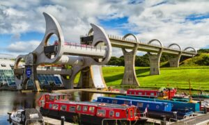 The Falkirk Wheel opened in 2002 during an entirely different political era (Photo: Milosz Maslanka/Shutterstock)