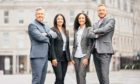 From left to right, The Power Within Training & Development co-founder and managing director James Fleming, Beena Sharma, Enas Fleming and Jordan Ferguson.