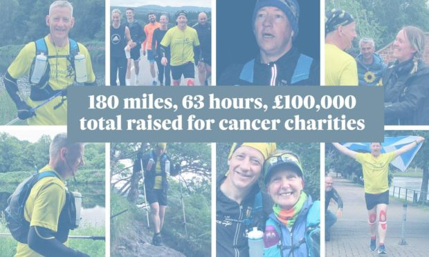 Ally K Macpherson's latest effort pushed him over the £100,000 mark for funds raised for cancer charities
