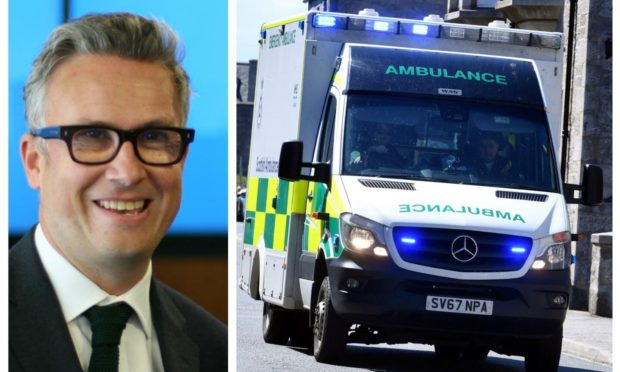 Iain Anderson's mother had to wait 13 hours for an ambulance in Aberdeen.