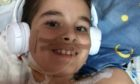 Aron Toth recovering from his liver transplant. Picture supplied by Rita Toth