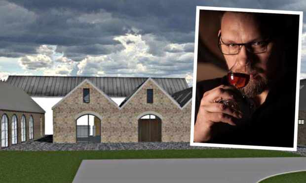 Bimber Distillery boss  Dariusz Plazewski  reveals love for Moray as he outlines his vision for small craft whisky distillery.