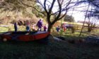 Taking education outside gives the curriculum a 'real world' context. Here, the children of Busy Bees nursery in Bower, Caithness, enjoy their stunning woodland play area.