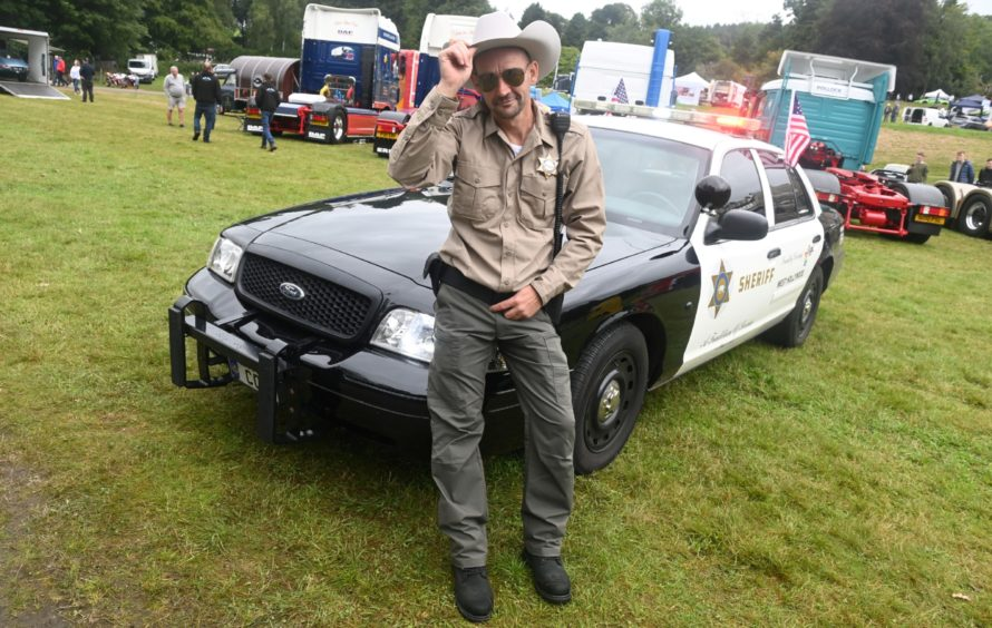 Royal Deeside Motor Show. Pictures by Chris Sumner.