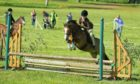Jorgi Craigie, 10, qualified for the Royal International Horse Show thanks to her performance at the National Pony Society show at Strathallan Castle in June. Supplied by www.sinclairphotography.co.uk