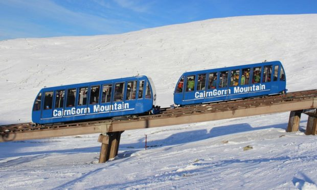 The Cairngorm Mountain funicular railway has been closed since 2018. Photo: HIE
