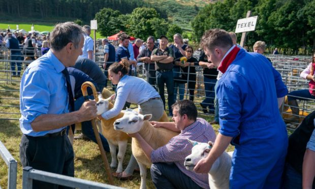 WINNERS:  Kinross Show got the go-ahead to organise the event just six weeks ago.