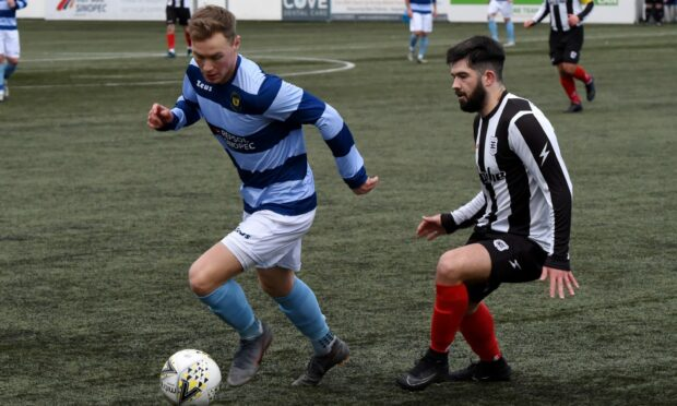 Jamie Buglass was on target for Banks o' Dee in their win against Banchory St Ternan.