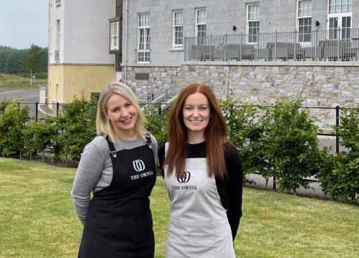 Dream home and job: Chapelton residents and neighbours Fiona Joss, left, and Karyn Werninck are thrilled to open their homeware and gift shop, The Omnia, at Chapelton.