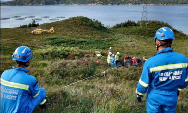 HM Coastguard - Western Isles, Skye and Lochaber in Kyleakin Isle Of Skye