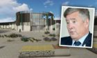 Justice Secretary Keith Brown and the proposed Inverness prison