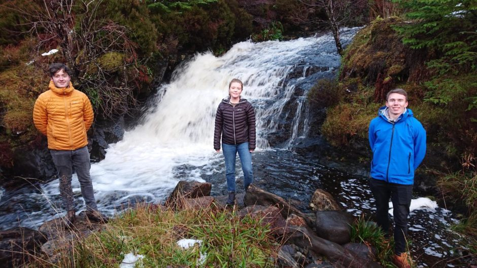 Funding from SSE Renewables will go towards a hydro project in Raasay