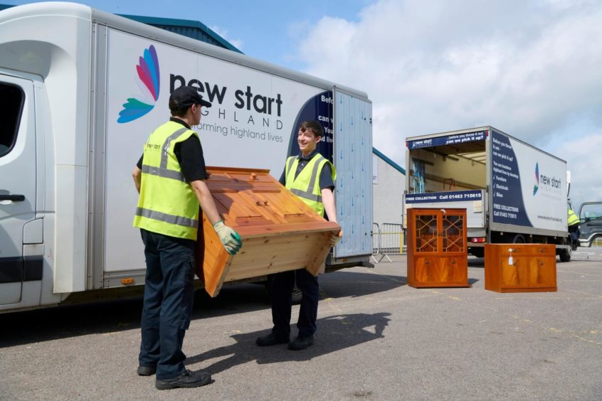 New Start Highland received a cash boost thanks to the green energy company