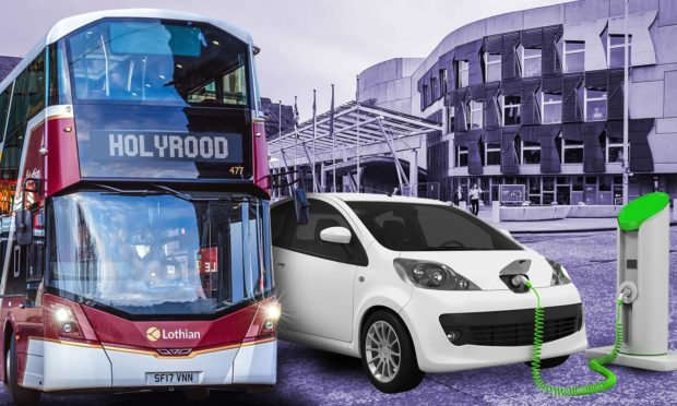 How many MSPs use public transport or electric cars?