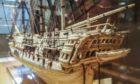 The Bone Ship harks back to the Napoleonic Wars.