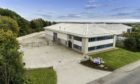 To go with story by Keith Findlay. New HQ for Inspectahire Picture shows; Inspectahire's new headquarters at Badentoy Business Park.. Badentoy, Portlethen.. Supplied by Prospect 13 Date; 04/10/2019