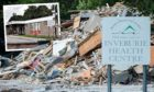 Inverurie Health Centre has been demolished.