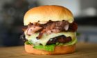 The classic burger from The Humble Burger.
