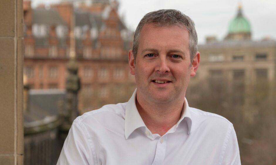 James Kergon, KPMG's new senior partner in Scotland.