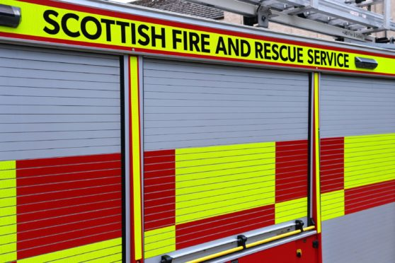 Fire crews were called by coastguards to help person stuck under quad bike.
