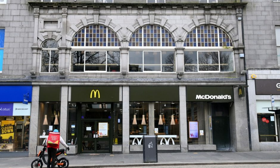 McDonald's on Union Street. Picture by Kath Flannery