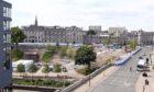 Union Terrace Gardens, pictured from Aberdeen Art Gallery, in July.