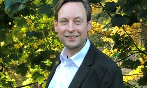 Liam Kerr, MSP for the north east region and shadow cabinet secretary for net zero, energy and transport