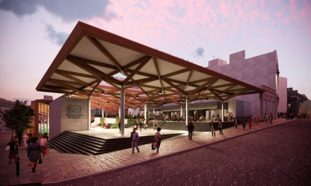 Concept images of the new Aberdeen International Market, on the BHS site, were released by the council in May.