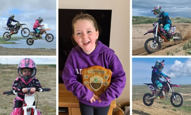 Orkney motocross pupil