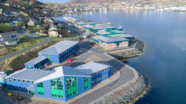 The NAFC Marine Centre in Shetland