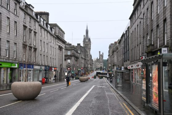 Union Street is in line for a 'deep-clean' costing £100,000.