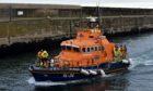 Fraserburgh lifeboat assisted the stranded vessel safely back to harbour after it became stranded near Fraserburgh.