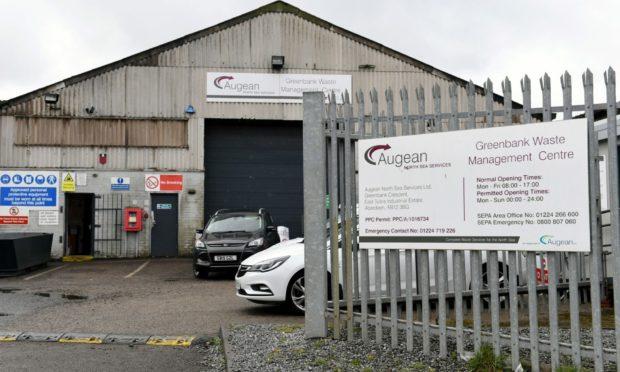 Augean North Sea Services, Greenbank Crescent, East Tullos Industrial Estate, Aberdeen.