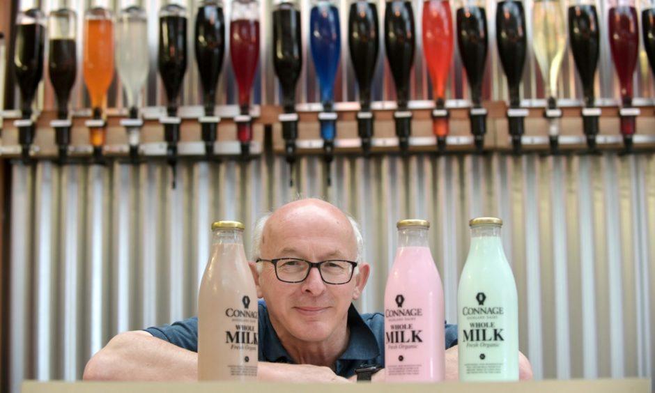 Callum Clark of the Connage Highland Dairy.