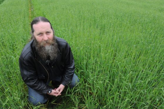Pete Smith - professor of soils and global change at Aberdeen University.