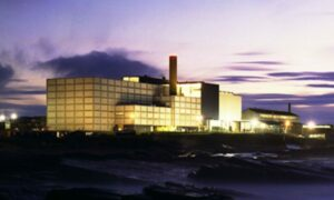 The Prototype Fast Reactor building at Dounreay.