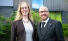 Lorna Slater and Patrick Harvie, co-leaders of the Scottish Green Party.