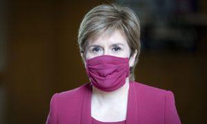 Nicola Sturgeon during the coronavirus crisis in Scotland