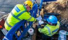 Works will take place on the new electricity network in September.