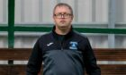 Strathspey Thistle manager Charlie Brown.