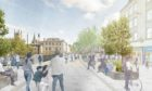 Union Street could be pedestrianised as part of the refresh of the city centre masterplan.