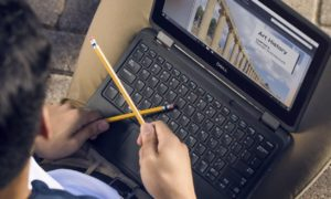 school laptops pandemic