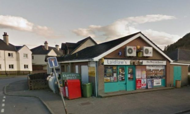 Appeal after robbery at Laidlaw's shop in Inverness