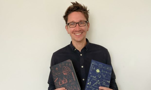 Damian Hardacre, owner of Atoms to Astronauts