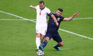 As Scotland and England battled for supremacy on the pitch, armchair fans clamoured for takeaways.