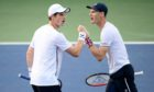 Andy and Jamie Murray will face England's team on December 21-22 at P&J Live.