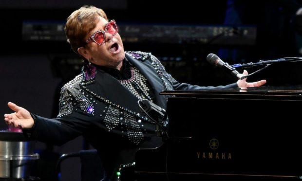 Elton John has postponed his upcoming tour after a fall (Photo: Julian Smith/EPA-EFE/Shutterstock)