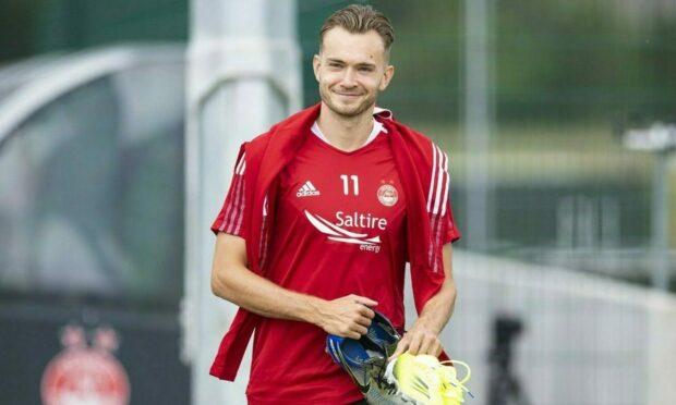 Aberdeen midfielder Ryan Hedges.