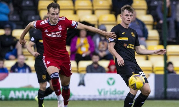 Ryan Hedges is set to return for Aberdeen this weekend.
